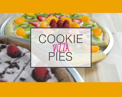 Cookie Pizza Pies