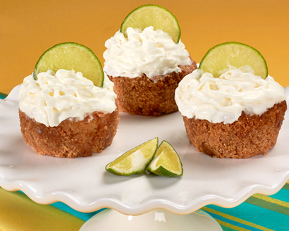 Guava-Coconut Key Lime Cupcake Pies with Meringuitos