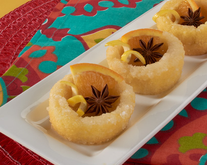 Sponge Cakes Soaked in Spiced Syrup