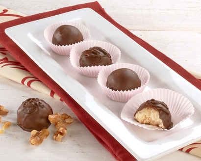 Maple Walnut Truffles