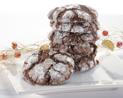 1001 Chocolate Crinkle Cookies