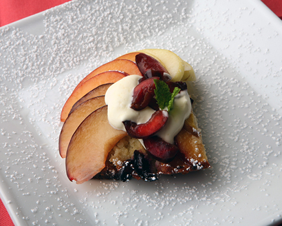 clafouti with fruit
