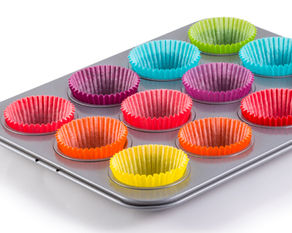 How to Prepare the Muffin Tins