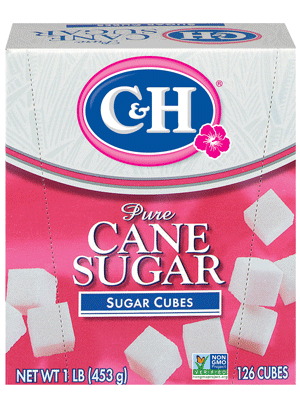 Granulated Sugar Cubes