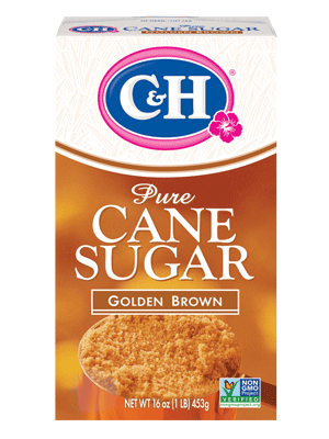 C&H® golden brown sugar - azúcar de color café clara