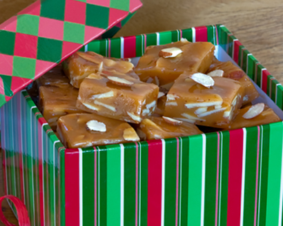 Honey Cinnamon Almond Caramels