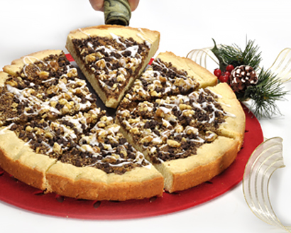 Chocolate Walnut Cookie Pie