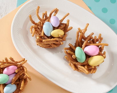 Sugared Bird Nests