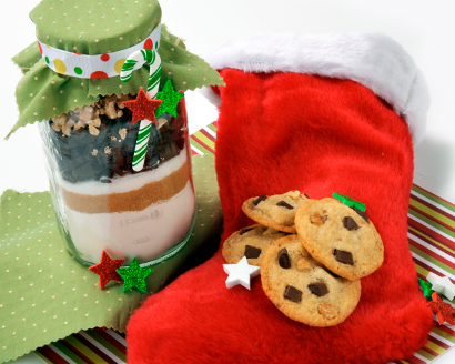 Chocolate Chunk Cookie Mix in a Jar