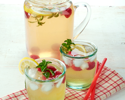 Sparkling Honey Lemon-Limeade