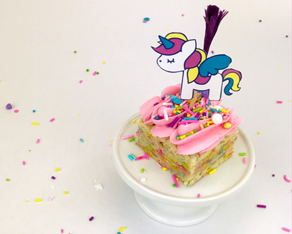 Unicorn Cookie Bars