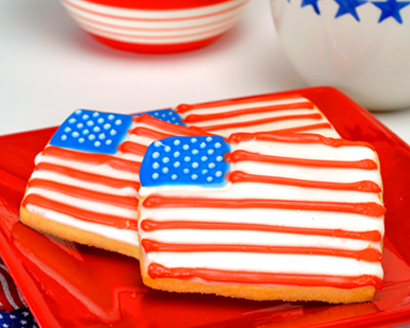 Red White And Blue Cookie Squares C Amp H Sugar