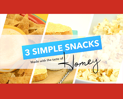 3 Honey Granules Snacks