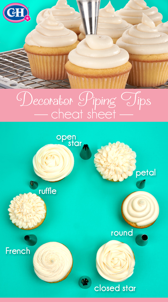 Simple Tips for Decorating Cupcakes | C&H Sugar