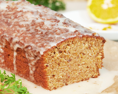 Glazed Lemon Nut Bread