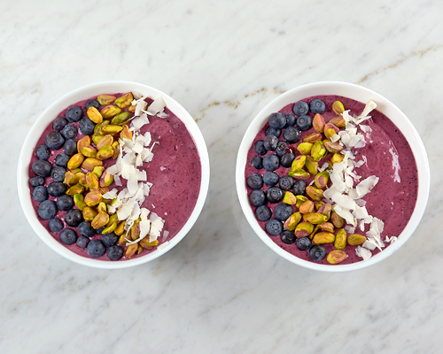 Blueberry Earl Grey Acai Bowl