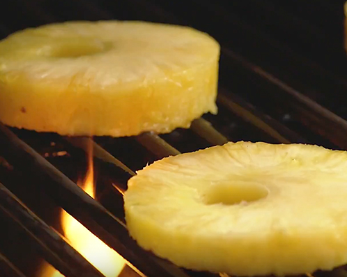 Grilled Fresh Pineapple