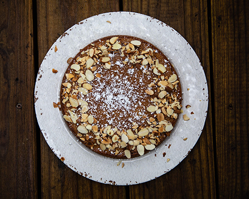 Brown Sugar Almond Sponge Cake